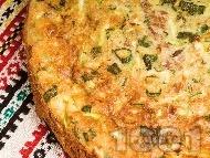 Суфле от тиквички, сирене и риба тон